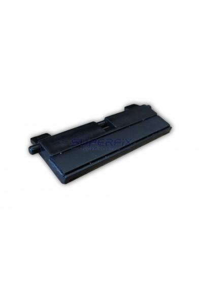 RM1-2546; Almofada de Separação HP LaserJet 5200 - Separation Pad Assembly - Somente a parte preta - Bandeja Tray 2