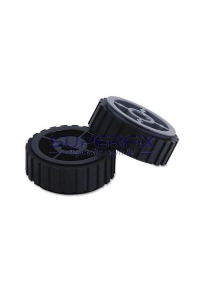 40x5451; Rolete Pickup Roller ACM Lexmark E260 / E360 / E460 / E462 / X264 / X363 / X364 / X463 / X464 / X466 - Bandeja Tray 1 - PAR